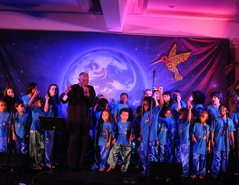 Agape Children's Choir from the Pachas Pajamas -  Blues Hall of Fame Award